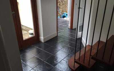 Slate Floor Cleaning Gloucestershire